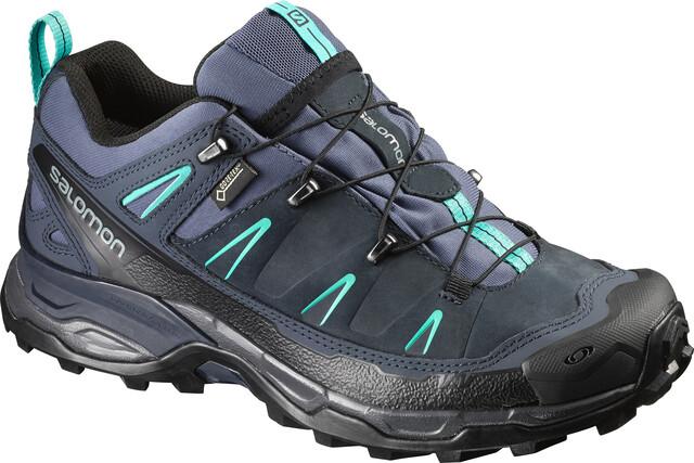 Chaussures de randonnée Salomon Gore Tex en cuir 42 (UK 8)